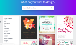 Canva Digital Marketing tool